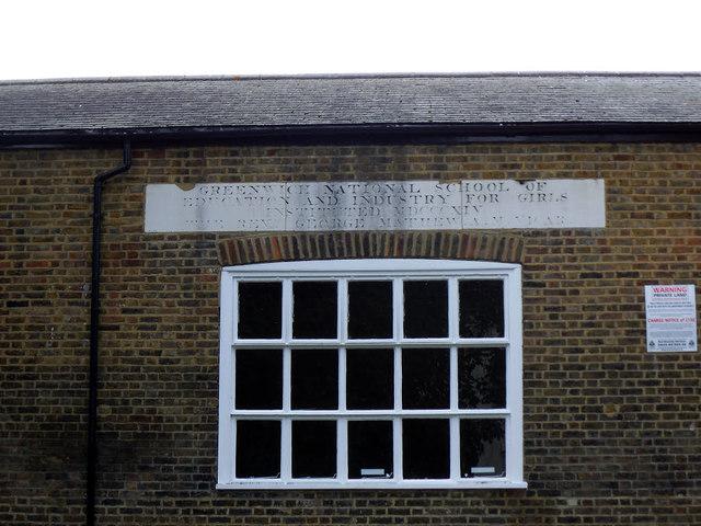 Inscription on St Alfege's church hall
