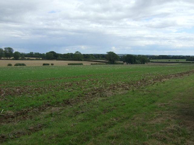 Farmland south west of Nassington