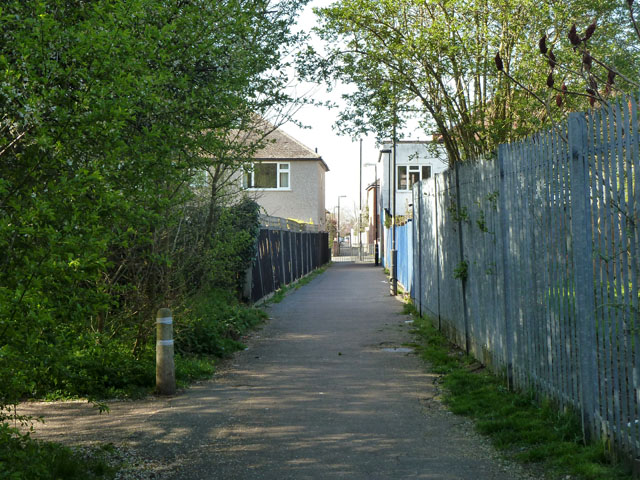 Way out of Morden Park