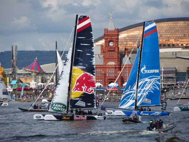 Extreme Sailing Series: Cardiff Bay event