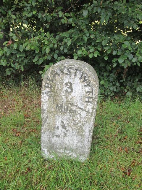 Mile Stone - Aberystwyth 3