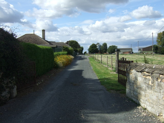 Track to Lyveden Farm