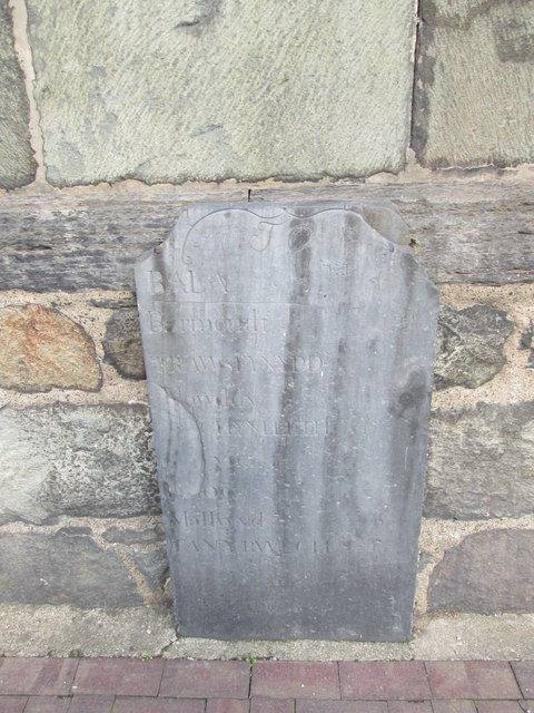 Mile Stone outside Town Hall