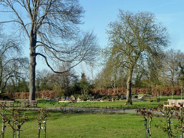 Garden of Remembrance, North East Surrey Crematorium