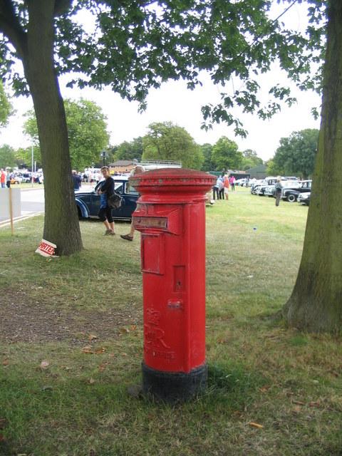 Postbox at Stoneleigh Park