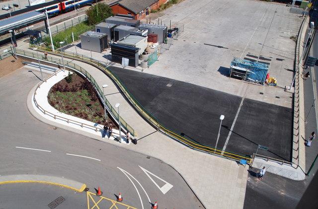 Pedestrian link, Nottingham Railway Station, NG1