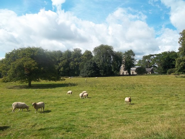 Church and Grazing Land at Boylestone