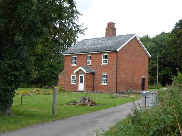 House at Linford Wood