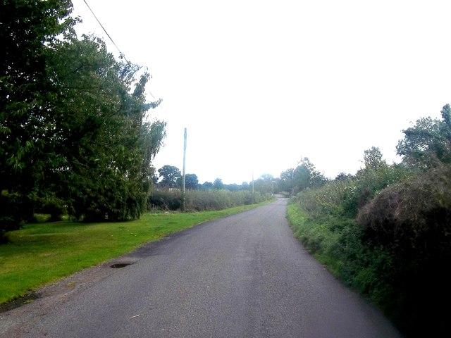 Ashbourne Road near Church Broughton