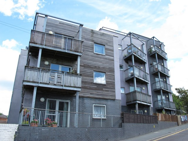 Modern flats in Bear Road, BN2
