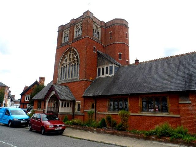 Congregational church, Winslow