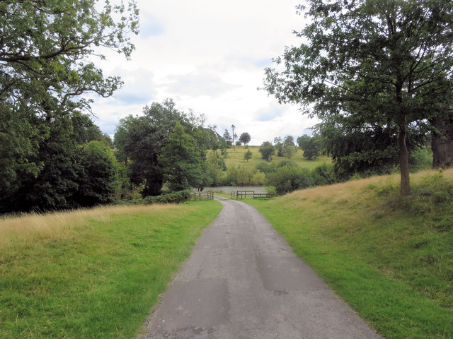 Hamstead Park footpath