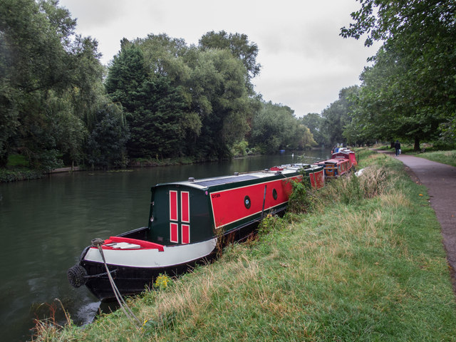 Narrow Boat on the Cam