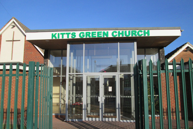 Kitts Green Church, Kitts Green Birmingham