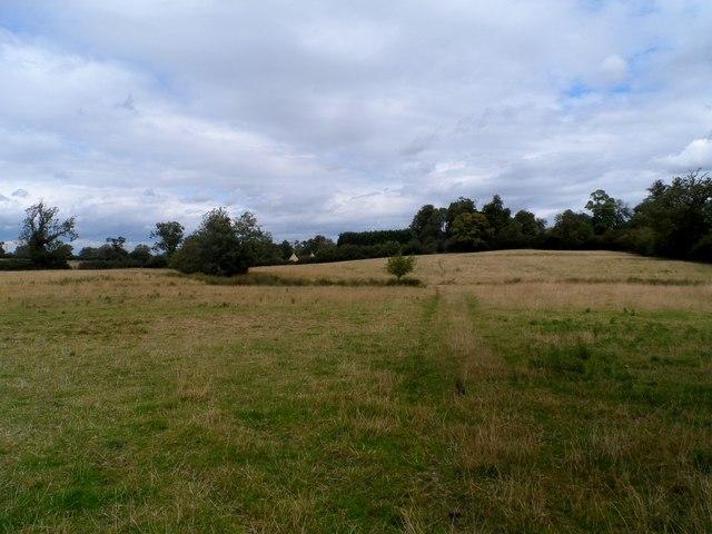 Footpath near Adstock