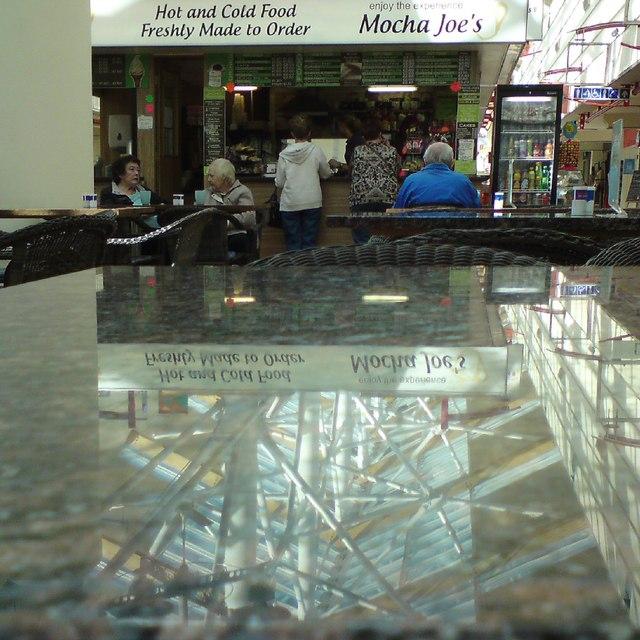 Reflections at Mocha Joe's