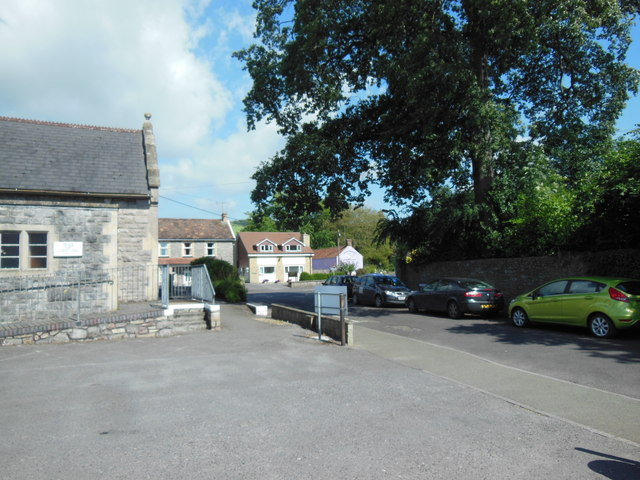 Parking for church hall, St Andrew's Church
