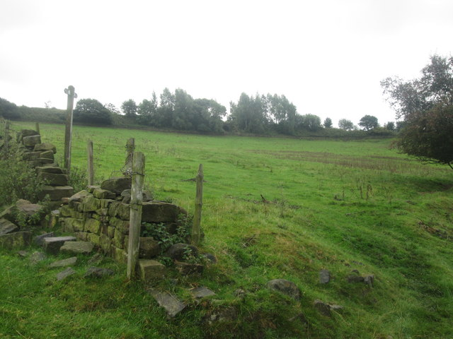 Footpath towards Padfield