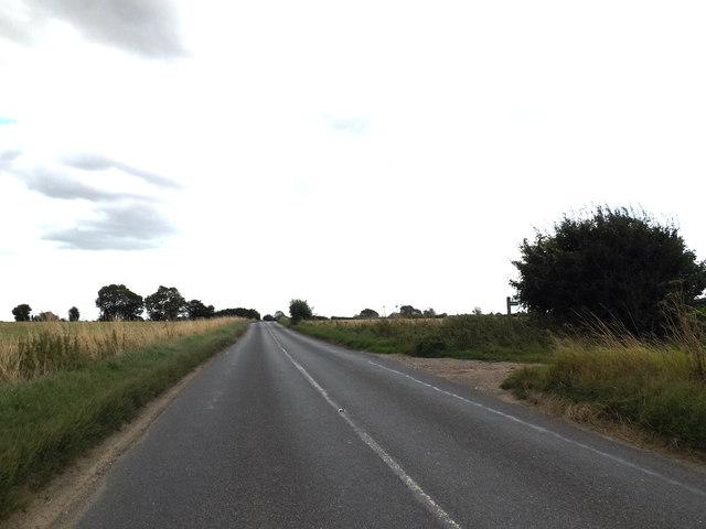 B1070 Hadleigh Road & footpath