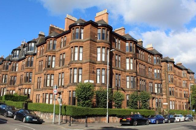 Corner of Dowanhill Street & Highburgh Road, Glasgow