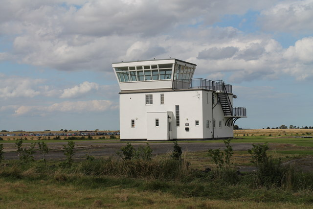 Strubby former airfield control tower