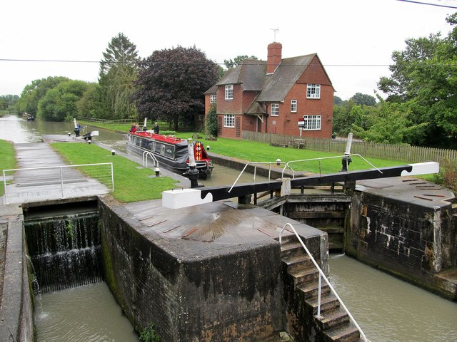 Welsh Road Lock-Grand Union Canal