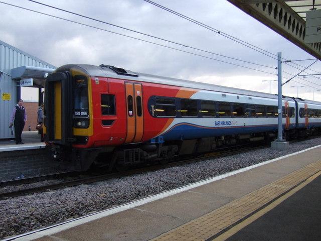 Platform 6, Peterborough Railway Station