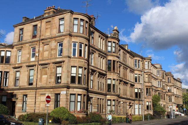 Corner of Caledon Street & Highburgh Road, Glasgow