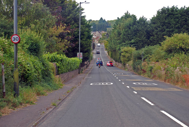 A39 Straight road to Hobb's Wall