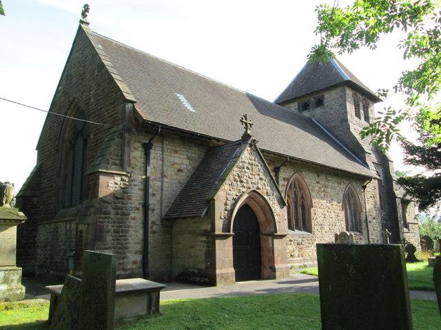 St Matthew's Church, Meerbrook