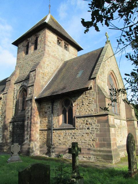 Tower of St Matthew's Church, Meerbrook