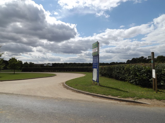 Bridleway off the B1070 Hadleigh Road