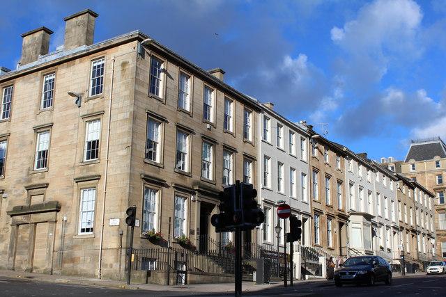 Corner of Pitt Street & St Vincent Street, Glasgow