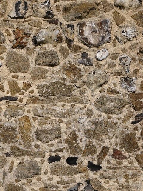 Compton parish church: Bargate stone work