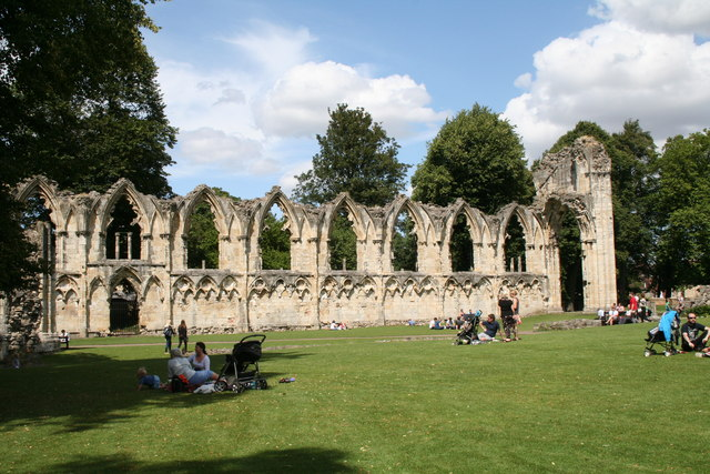York:  Remains of St. Mary's Abbey