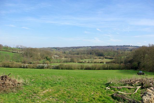 Medway Valley above Weir Wood Reservoir