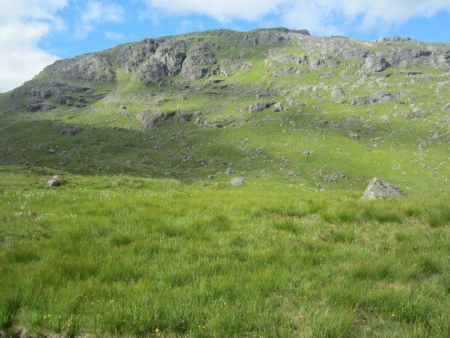 Looking towards Yawning Crag on Beinn Narnain