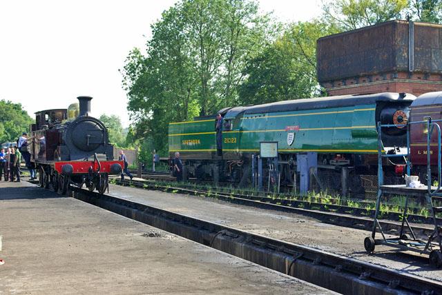 Locomotives at Sheffield Park