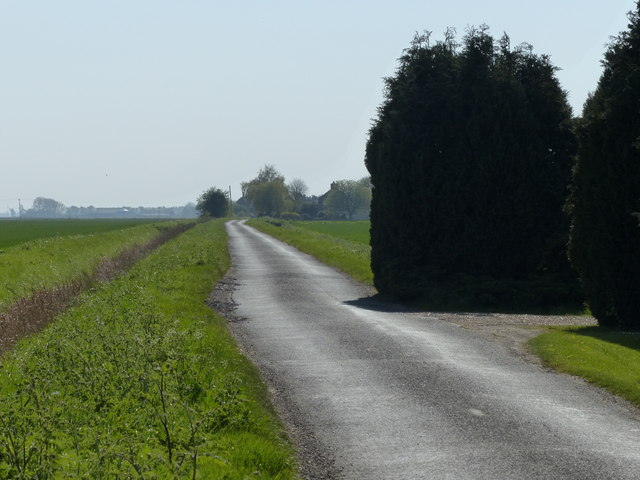 Holland's Chase south of Pinchbeck West