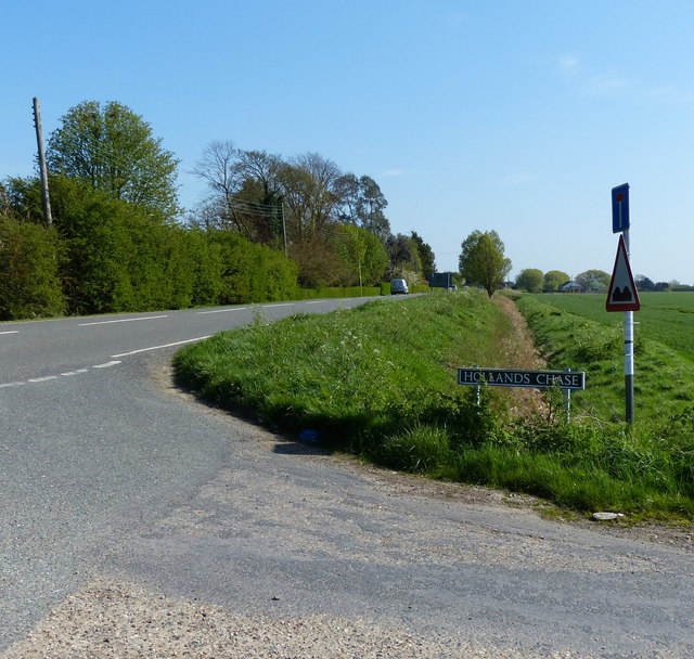 Junction of Holland's Chase and Dozen's Bank