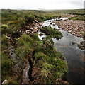 NG7967 : Stream-bank erosion by Toby Speight