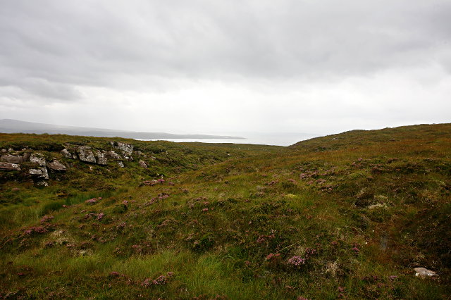 Hillside above Craig