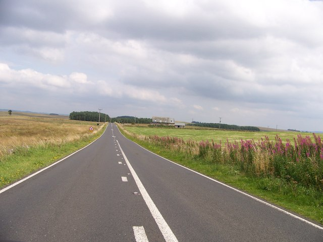 B6318 near the Old Repeater Station