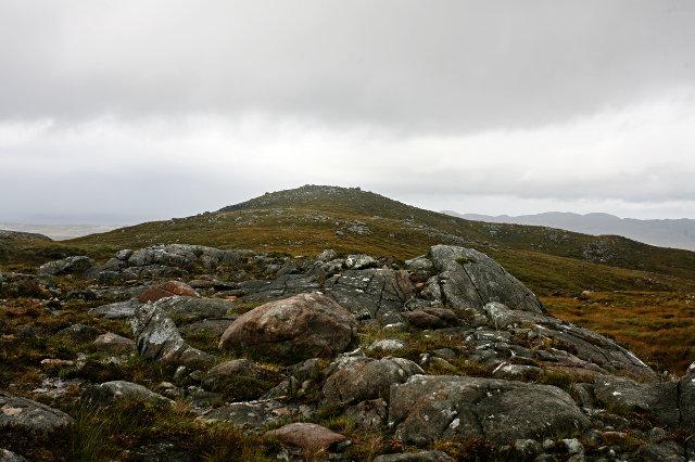 Northern outcrop of Creag Bhreac
