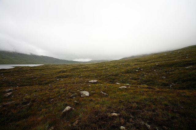 Rough ground near Loch a' Bhealaich
