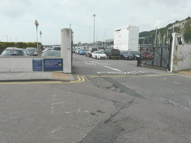 Dover Harbour Board private carpark