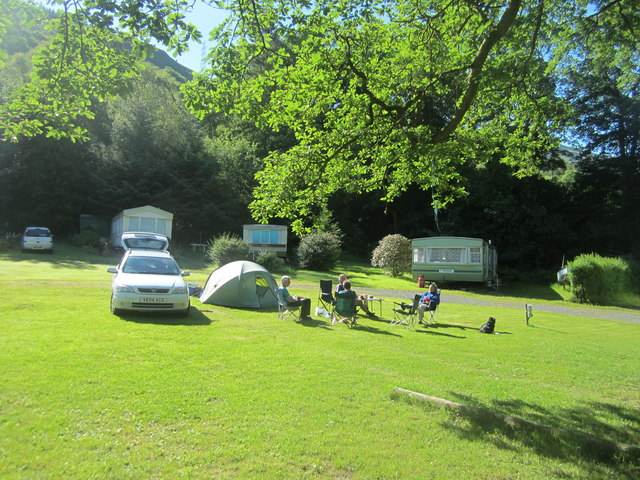 The campsite at Arrochar