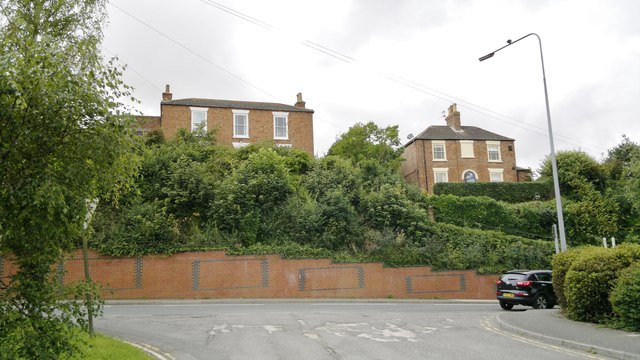 Houses opposite the old Cattle Market on Upgate (leading to London Road), Louth