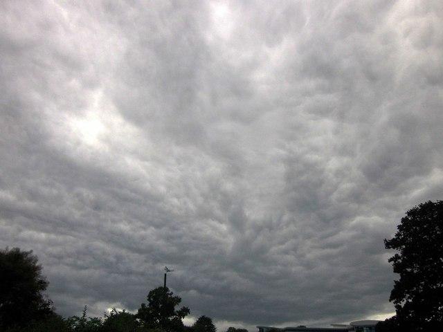 Clouds over Torquay Academy