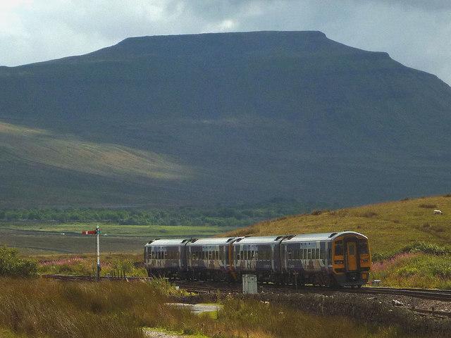 Small train, big hill, Ribblehead